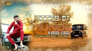 Jattan De Munde ● Raman Sidhu feat Harman Hayer ● Punjabi Latest Song 2016 ● Tape Records