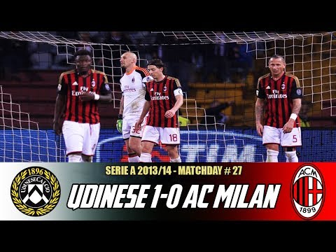 Udinese-AC Milan (1-0) | March 8, 2014 | Match Discussion + Review