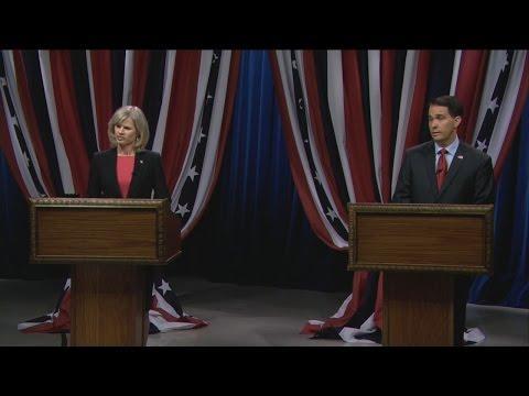 Video: Wisconsin governor's second debate