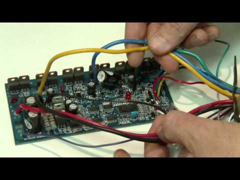 Home-made BLDC Hub Motor Speed Controller Project-Daymak Austin KA4850WD-B YL06A120