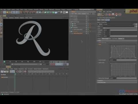 Creating Marvelous Motion Graphics in CINEMA 4D Class 2