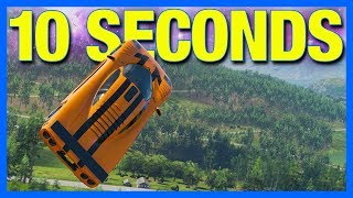 Forza Horizon 4 Online : The 10 Second Jump...