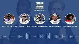 UNDISPUTED Audio Podcast (9.06.18) with Skip Bayless, Shannon Sharpe & Jenny Taft | UNDISPUTED
