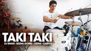 Download TAKI TAKI - Dj Snake, Selena Gomez, Ozuna, Cardi B | Alejandro Drum Cover *Batería* Mp3/Mp4
