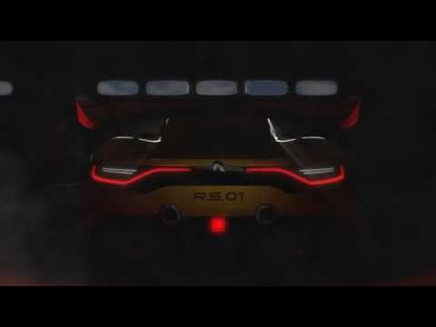Renault Sport R.S. 01 takes off the wraps klip izle