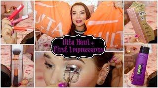 Ulta HAUL + New Products First Impressions!