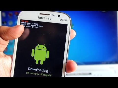 How to Install Samsung Stock Rom via Odin