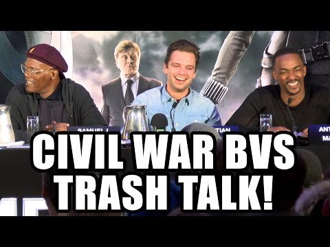 Captain America 3 Trash Talk Batman vs Superman