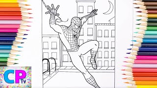 Spiderman Coloring Pages for Kids 89, Spiderman Coloring,How to Color Spiderman Coloring Pages Fun