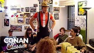 "Conan Becomes A Bike Messenger - ""Late Night With Conan O'Brien"""