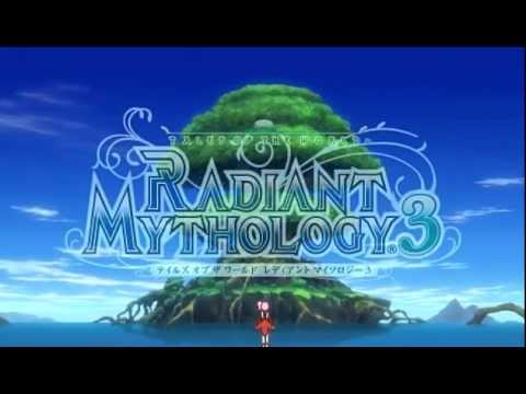PSP Tales of the World Radiant Mythology 3 - Opening Sequence...