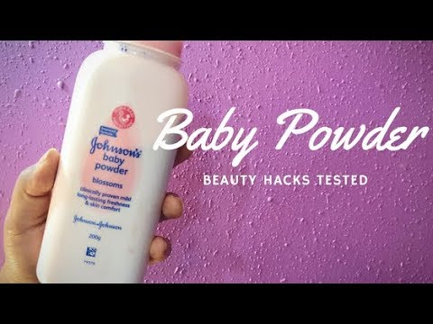 Beauty Hacks With BABY Powder TESTED | Aarushi Jain