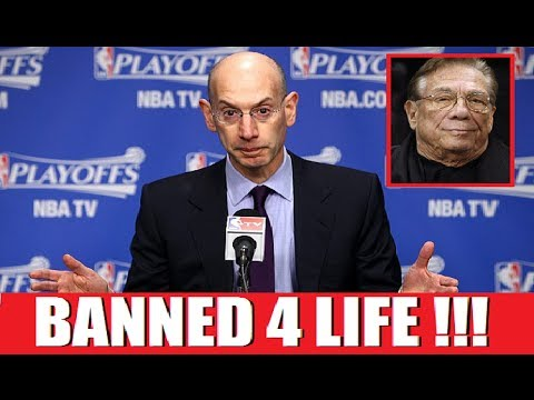 Adam Silver Gives Lifetime Ban To Clippers Owner Donald Sterling For Racist Remarks