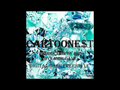 "CARTOONE$T- ""DIGITAL DASH FREESTYLE"""