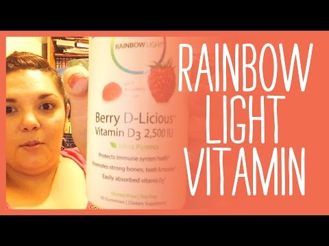 Rainbow Light Vitamin Product Review