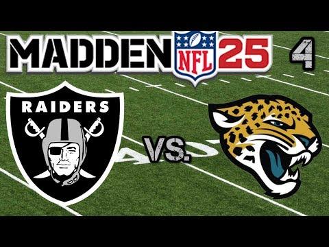 Madden 25 Raiders Franchise: Week 2- The Jaguars Ep. 4
