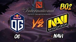 OG vs NAVI ► The Internationals Dota 2 2019 ( TI9 Day 1 ) 😎 | dota 2