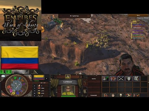 Kolumbia:Age Of Empires 3 Wars Of Liberty