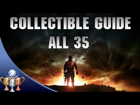 Battlefield 4 - Collectibles Locations - All 35 Dog Tags & Weapons...