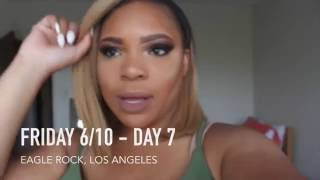 Vlog: Los Angeles & Formation World Tour !
