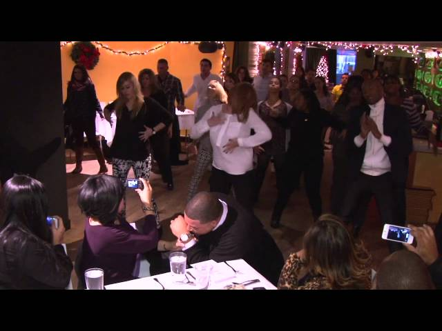 Michael and Ana's Vow Renewal Flash Mob at Sofrito NY