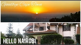 VLOGMAS 1 | Goodbye Cape Town, Hello Nairobi | Sunsets and Theatre