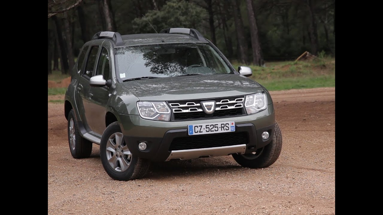 essai dacia duster 1 5 dci 110 4x2 prestige 2013 youtube. Black Bedroom Furniture Sets. Home Design Ideas