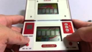 13815/14734 Nintendo Game & Watch Pinball & Black Jack