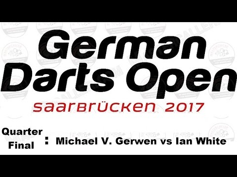 Happybet German Darts Open 2017 HD - Quarter Final [1of4]: Michael van Gerwen vs Ian White