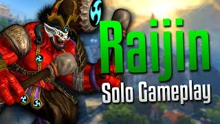 Smite: SO MUCH DAMAGE!- Raijin Solo Gameplay