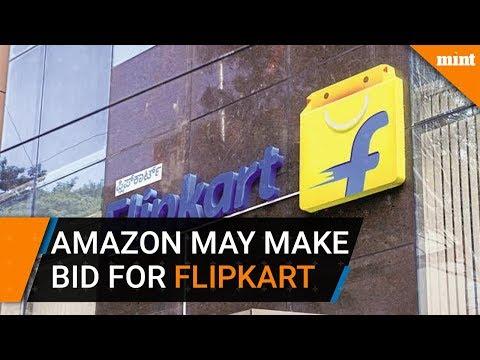 Amazon may make rival bid for Flipkart