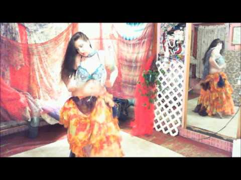 Hot Sexy,mama,bellydance,for Ravi Shankar,middle,eastern,ladykashmir,chest,pops video