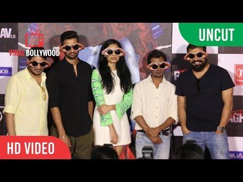 UNCUT - Raman Raghav 2.0 Official Trailer Launch   Nawazuddin Siddiqui & Vicky Kaushal