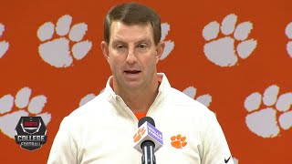 Does Dabo Swinney have a point about Clemson's perception? | College Football Live