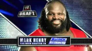 WWE Draft 2011- highlight - 04/25/11 - FULL HD