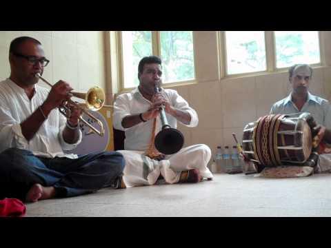 Rajesh Mehta Plays The Orka-m Naga Phoenix Trumpet Live At Sri Ruthra Kaliamman Temple, Singapore video