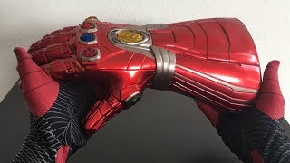 Spiderman Far From Home Unboxing ENDGAME IRONMAN NANO INFINITY GAUNTLET