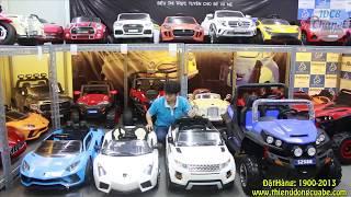 Hướng dẫn cắm sạc điện và xem dung lượng ac quy xe ô tô điện trẻ em   thienduongcuabe