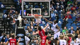 Andrew Wiggins Elevates for the Huge Poster Slam on Asik