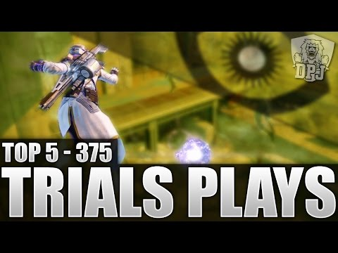 Destiny: Amazing Trials Plays - Top 5 Trials Of Osiris Plays Of The Week / Episode 375