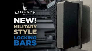 🦍BIGGER 🦍, 💪STRONGER 💪, and 🔝BETTER 🔝 - Liberty Safes New Military Style Locking Bars