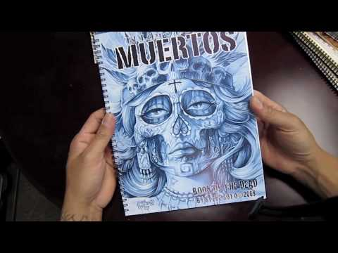 Steve Soto Sketch books Sold through Element Tattoo Supply