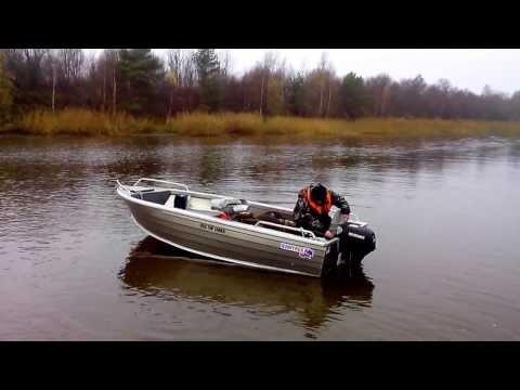 видео лодка крым под мотором 15 л.с