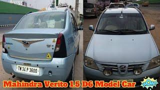 Used Mahindra Verito 1.5 D6 Model Car Sale In Tamilnadu Used Mahindra Verito for Sale