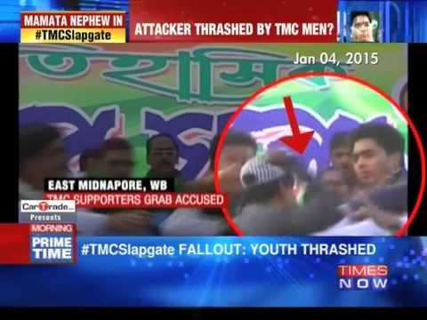 Mamata Banerjee's nephew in TMC slapgate