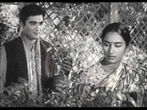 Rare song aye mere hamsafarfrom chabili singing by NUTAN