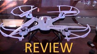 S-idee 01502 Quadrocopter / Drohne Mit HD Kamera Inkl. Crash-Flug
