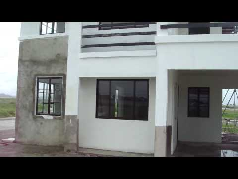 Model home, Claremont Mabalacat Pampanga