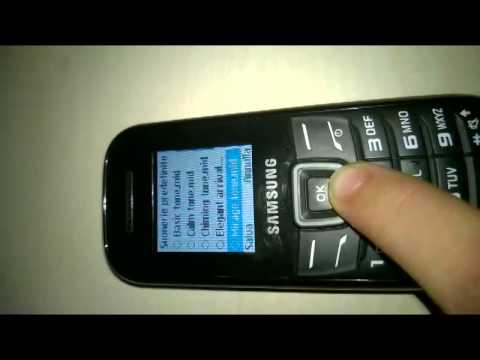 Samsung GT-E1200 original ringtone