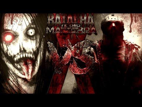 JEFF THE KILLER VS JASON  -  BATALHA MACABRA DE RAP